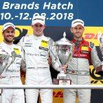 DTM – Un nouveau podium pour Audi avec René Rast à Brands Hatch