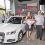 Audi Brussels dit au revoir à l'Audi A1