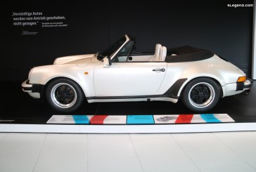 Porsche 911 Turbo 3.3 4×4 Cabriolet Concept de 1981 – La première 911 à 4 roues motrices