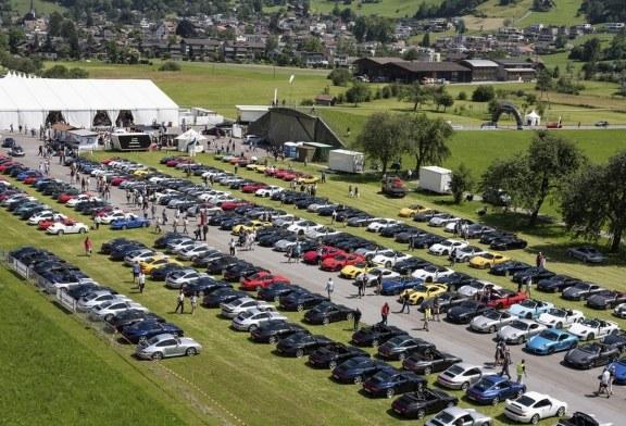 Rassemblement Porsche 2018 à Mollis en Suisse : incroyable!