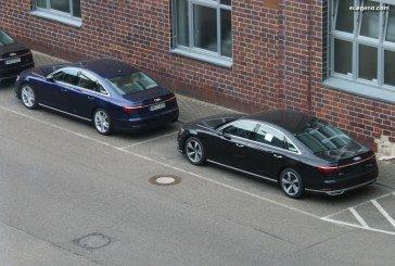 Spyshots Audi Q5 e-tron, A7 e-tron et A8 L 60 e-tron : des modèles hybrides en approche