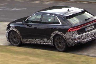 Spyshots Audi RS Q8 en roulage au Nürburgring