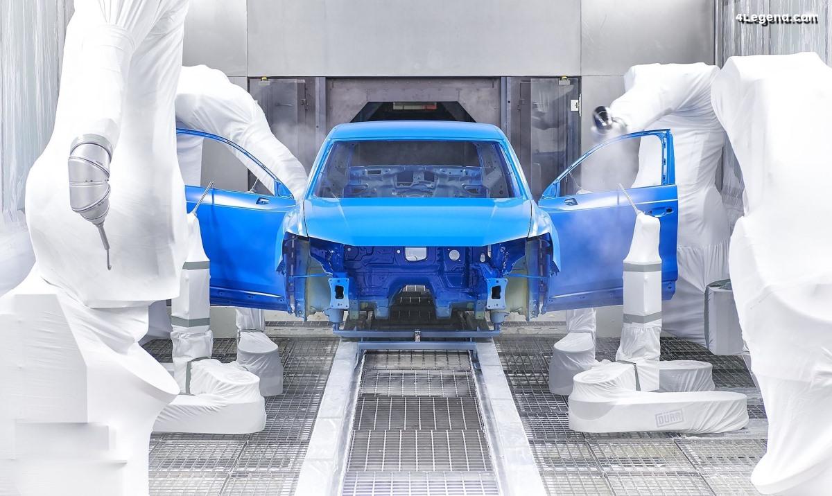 Début de la production de l'Audi Q3 chez Audi Hungaria