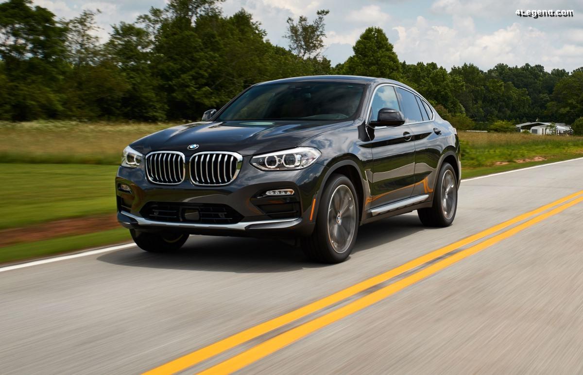 Des pneus Pirelli été et hiver en première monte sur le BMW X4