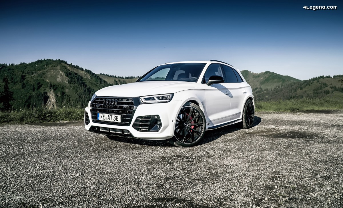 ABT dynamise l'Audi SQ5 : 425 ch et 550 Nm