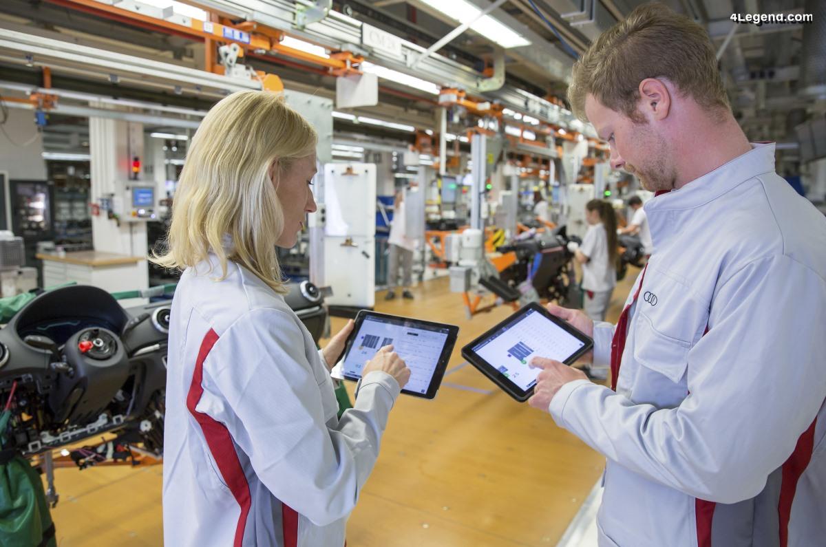 Audi remporte le Red Dot Design Award et le German Design Award pour son outil de planification numérique