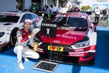 DTM – Deux pôles, deux victoires : le pilote Audi René Rast réalise le week-end parfait au Nürburgring