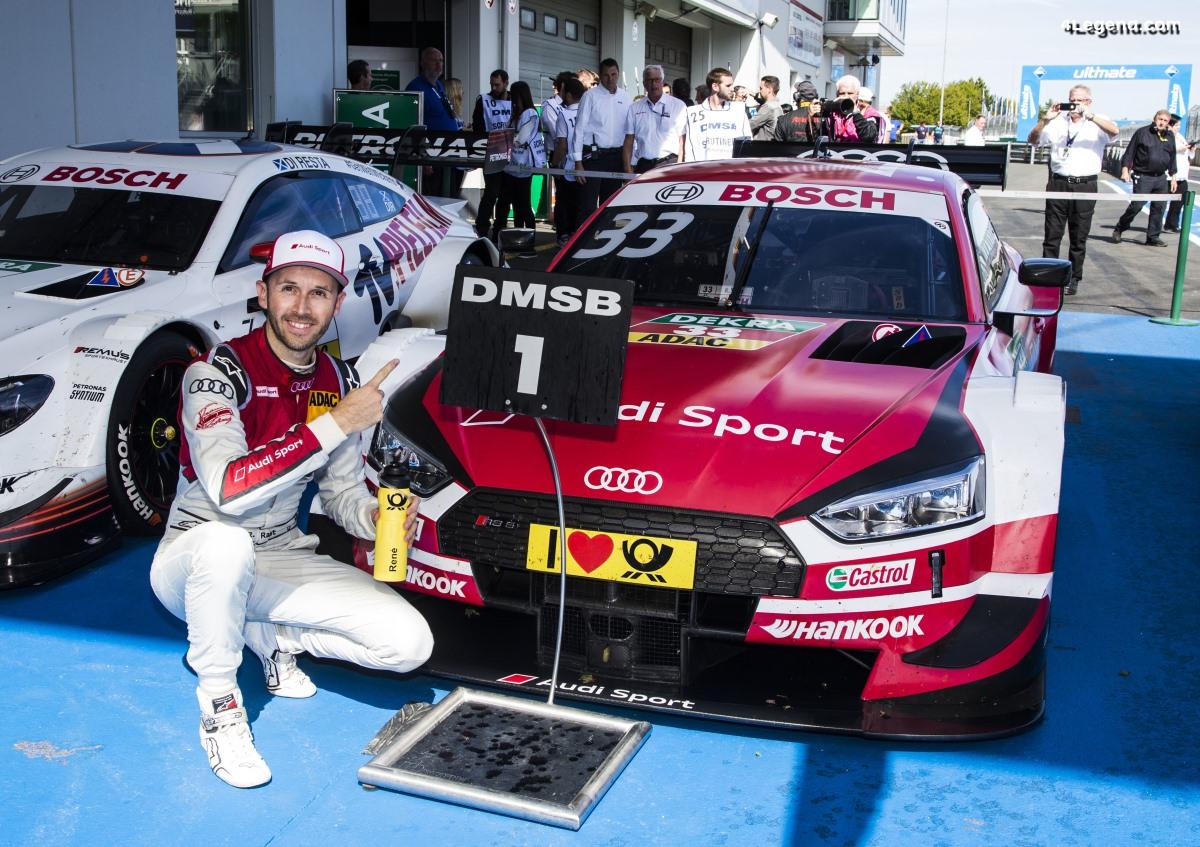 DTM - Deux pôles, deux victoires : le pilote Audi René Rast réalise le week-end parfait au Nürburgring