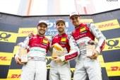 DTM – Triplé Audi à Spielberg et 3ème victoire d'affilée de René Rast