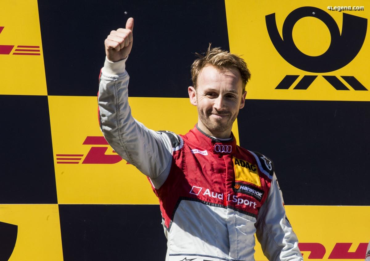 DTM - René Rast remporte la deuxième victoire de la saison pour Audi au Nürburgring
