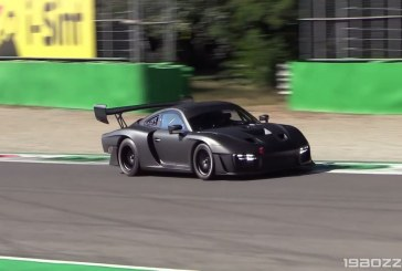 Essais de la Porsche 935 Type 991 à Monza