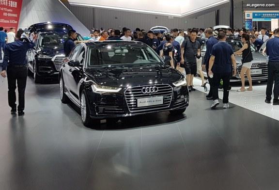 Audi A6 L e-tron & Audi Q7 e-tron chinoises au Chengdu Motor Show 2018