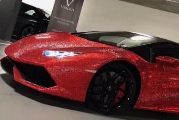Lamborghini Huracán Vinceri Edition recouverte de 1,3 million de cristaux Swarovski