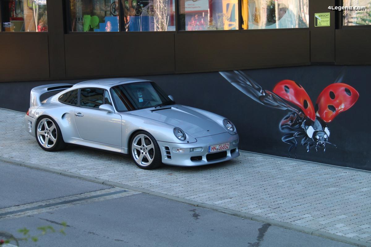 Luftgekühlt Munich - Une présence remarquée de Porsche 911 construites par RUF