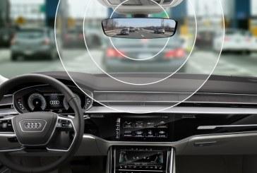 L'Audi e-tron sera le premier modèle équipé de la technologie des modules de péage intégrés aux véhicules