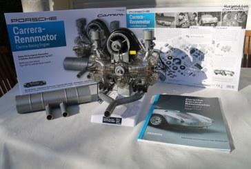 Maquette du moteur Porsche Carrera Flat 4 Type 547 de 550 spyder à monter à l'échelle 1:3 by Franzis