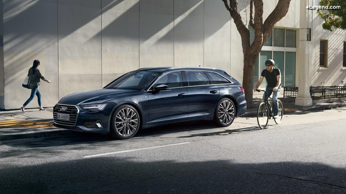 Ouverture des commandes de l'Audi A6 Avant