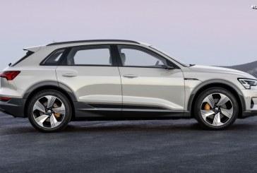 Des pneus Goodyear Eagle F1 Asymmetric 3 SUV en première monte sur l'Audi e-tron