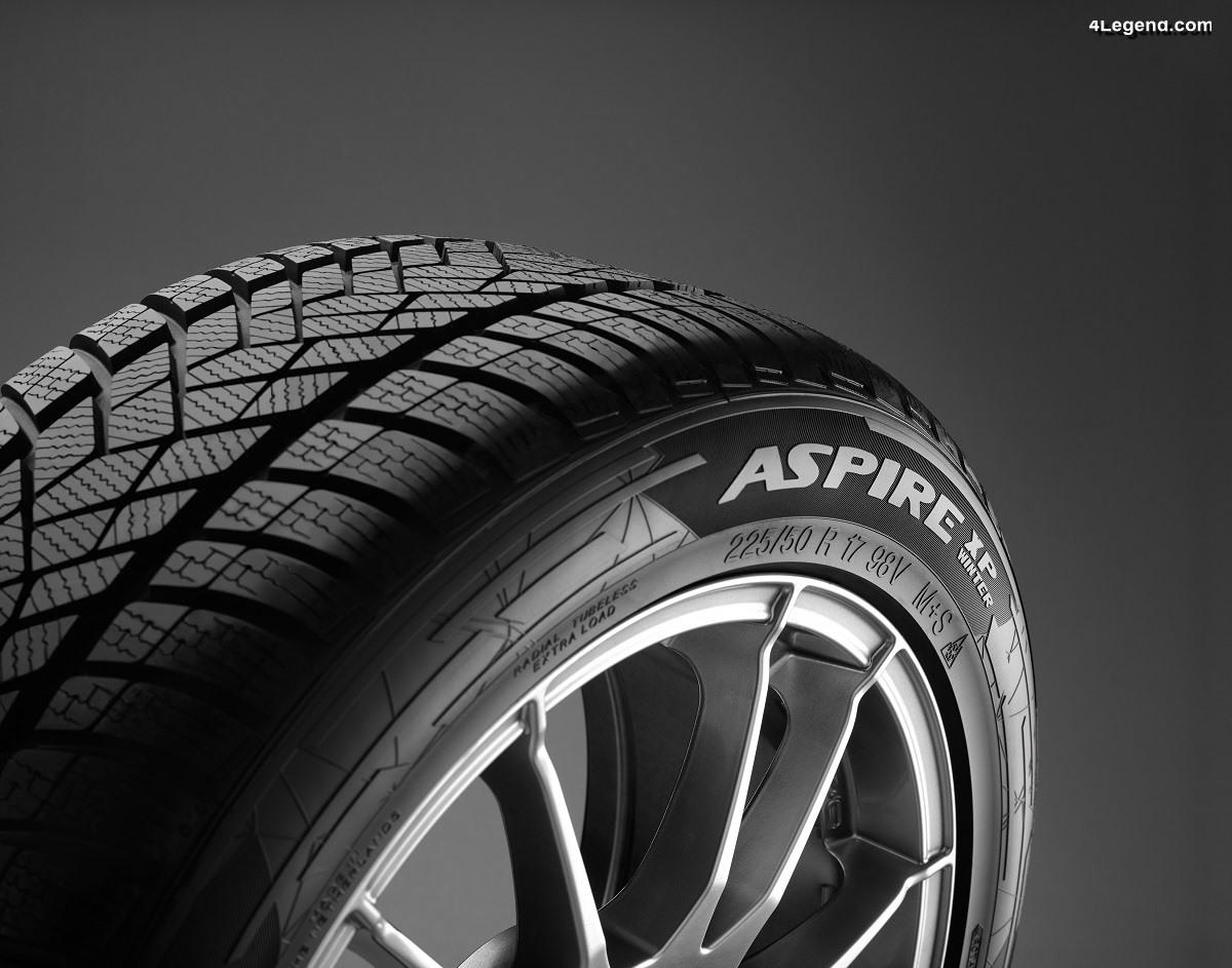 Apollo Tyres étend sa gamme de pneus hiver avec l'Aspire XP Winter