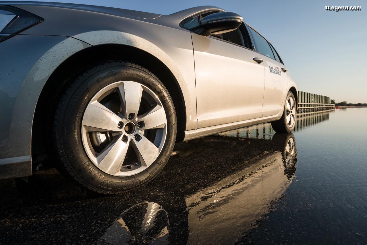 Kleber Dynaxer UHP et Kleber Dynaxer HP4 - De nouveaux pneus été performants