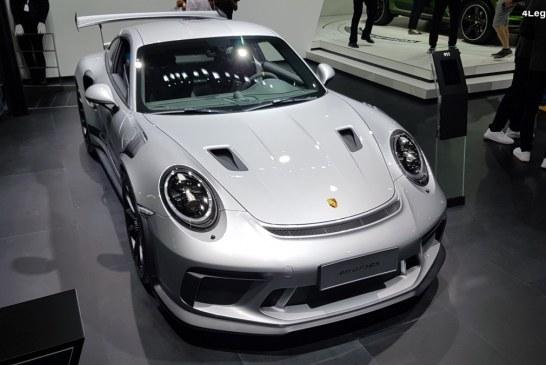 Porsche 911 GT3 RS au Chengdu Motor Show 2018