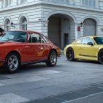 Porsche 911 Carrera T de 2018 vs Porsche 911T de 1970