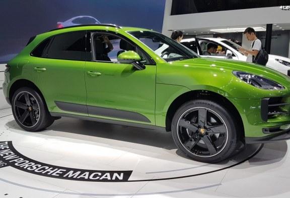 Porsche Macan restylé au Chengdu Motor Show 2018