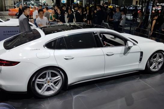 Porsche Panamera 4S Executive au Chengdu Motor Show 2018