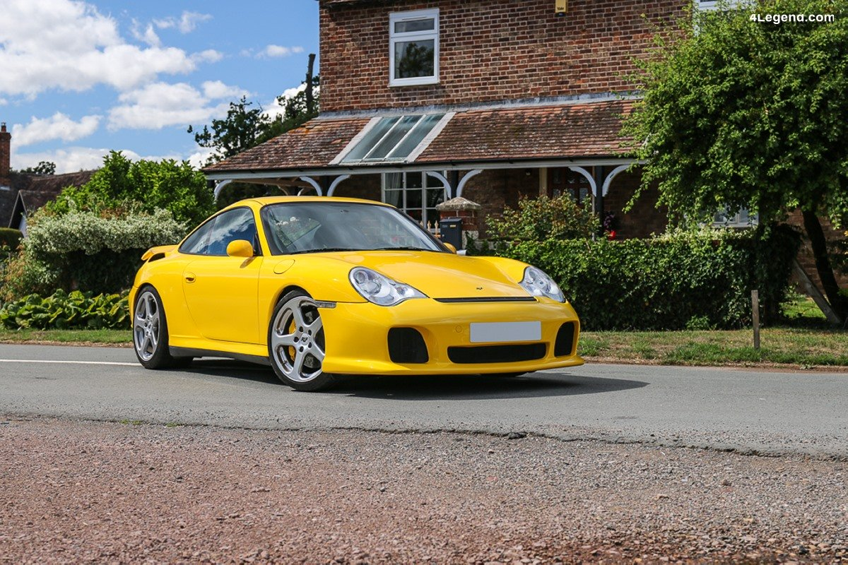 RUF Rturbo de 2002 sur base de Porsche 911 Type 996 - 550 ch et 780 Nm