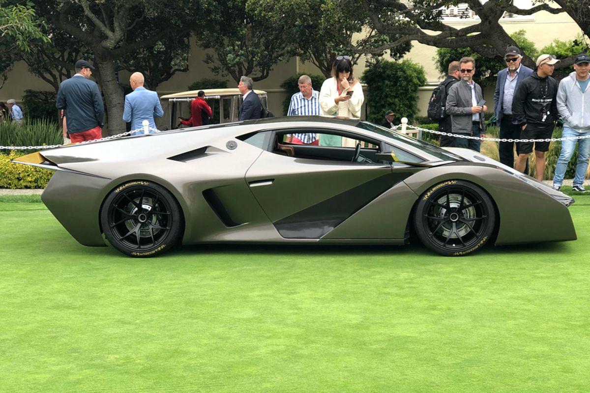 Salaff C2 - Une nouvelle supercar sur la base d'une Lamborghini Gallardo