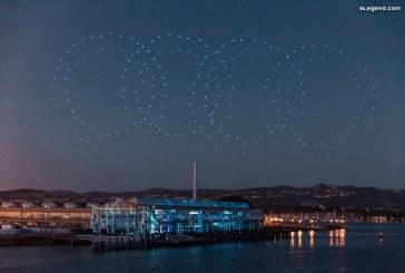 Un show de 850 drones Intel pour célébrer la première mondiale de l'Audi e-tron