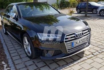 Spyshots nouvelle Audi S4 facelift 2019
