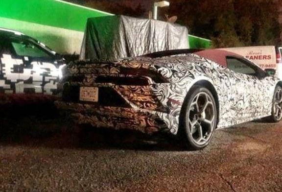 Spyshots Lamborghini Huracán Spyder restylée – extérieur et intérieur