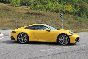 Spyshots – Porsche 911 Type 992 colorées et intérieur dévoilé