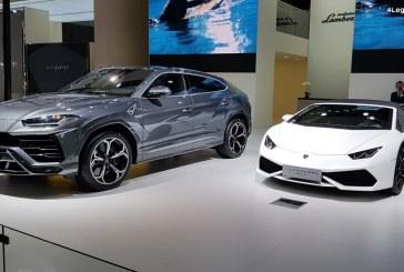 Gamme Lamborghini au complet au Chengdu Motor Show 2018