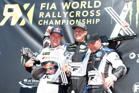 WRX – Podium et courses intenses pour EKS Audi Sport à Lohéac