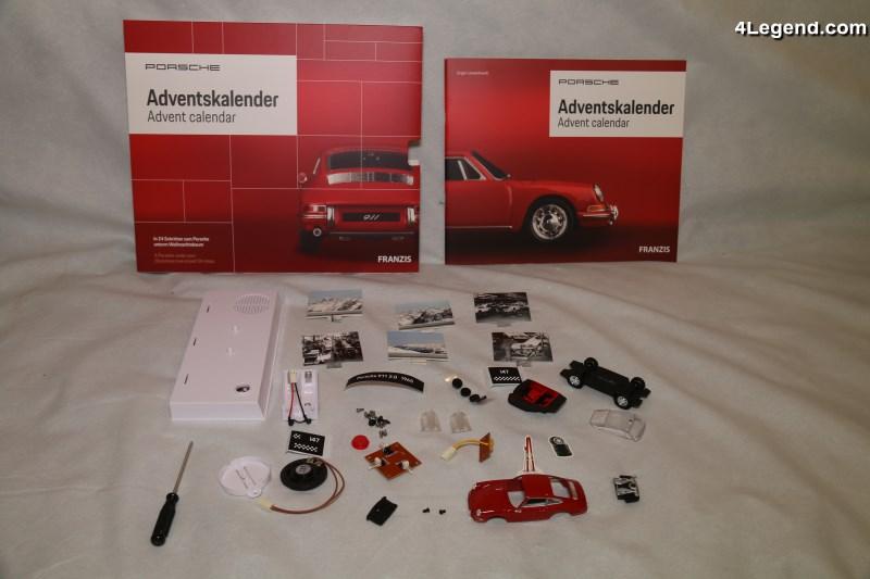 Calendrier De L Avent Voiture.Calendrier De L Avent Porsche Avec Une Miniature Sonore De