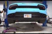 Anecdote – Comment changer l'huile d'une Lamborghini Huracán?