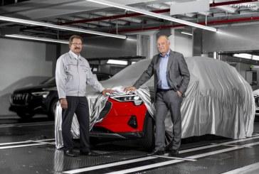 Début de la production de l'Audi e-tron