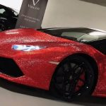 Lamborghini Huracán Vinceri Edition recouverte de 1,3 million de cristaux Swarovski