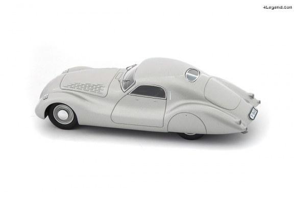 Miniature Audi Berlin-Rom Stromlinien Coupé de 1938 d'Autocult