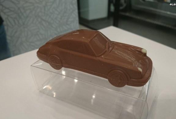 Porsche 911 Carrera 2 Type 964 en chocolat – Heilemann Confiserie