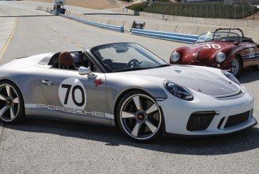 La Porsche 911 Speedster Concept à la Rennsport Reunion VI