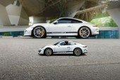Une Porsche 911 R en pièces de puzzle 3D par Ravensburger