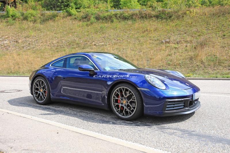 Spyshots Porsche 911 Type 992 Color 233 Es Et Int 233 Rieur