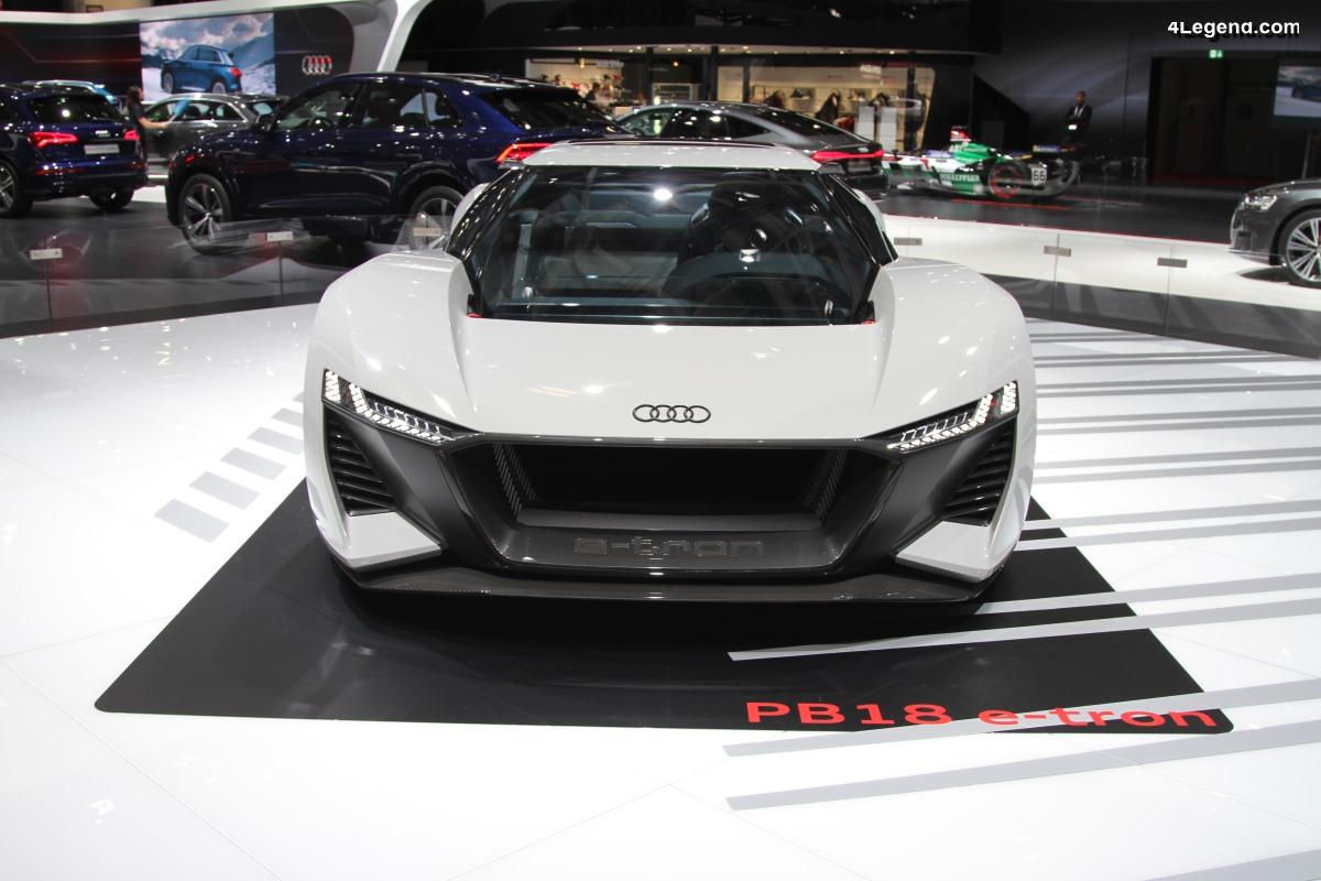 Paris 2018 - Audi PB18 e-tron : la supercar électrique du futur