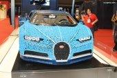 Paris 2018 - Bugatti Chiron construite en LEGO à l'échelle 1:1