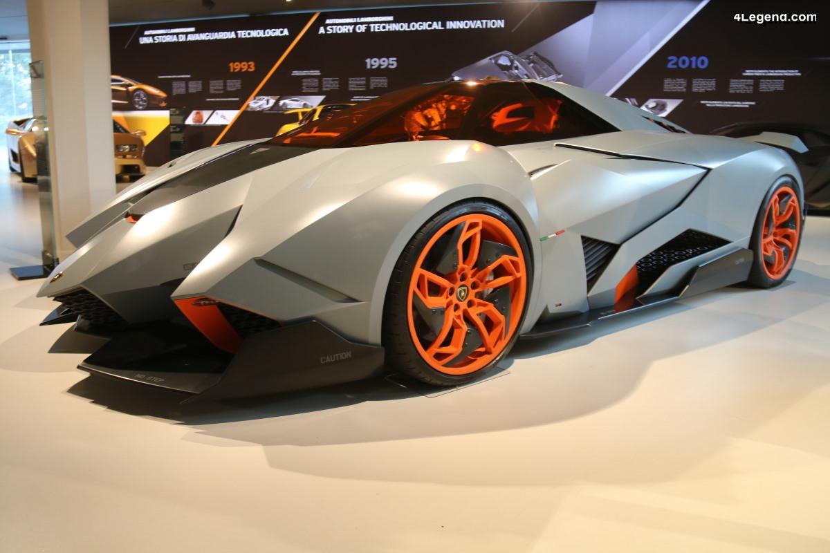 Lamborghini Egoista de 2013 - Un concept car inspiré d'un avion de chasse