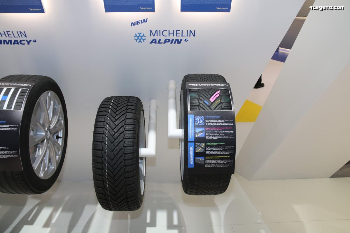Paris 2018 - Découverte du pneu hiver Michelin Alpin 6