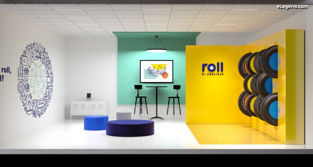 Roll by Goodyear - Des showrooms Goodyear à Washinton D.C.